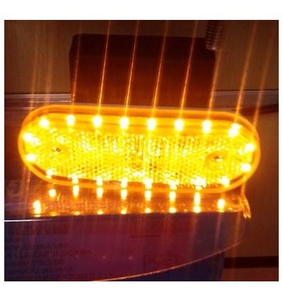 MAGNIFICO!!PILOTO LED 24V/12V AMBAR