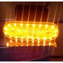 PILOTO 20 LED 24V/12V AMBAR
