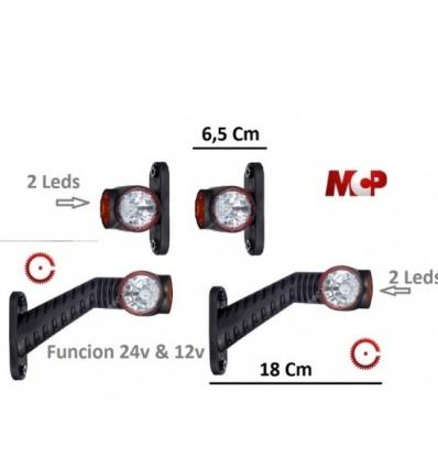 4 PILOTOS LEDS