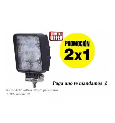 2 x 1 FOCO LEDS 12/24V ARTICULADO